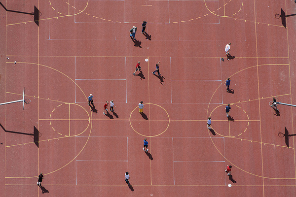 by Aerial Photography #game #geometry #playground