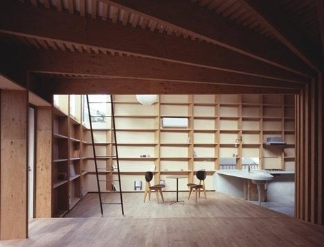 Dezeen » Blog Archive » Tree House by Mount Fuji Architects Studio #mount #fuji #house #tree #architects #by #studio