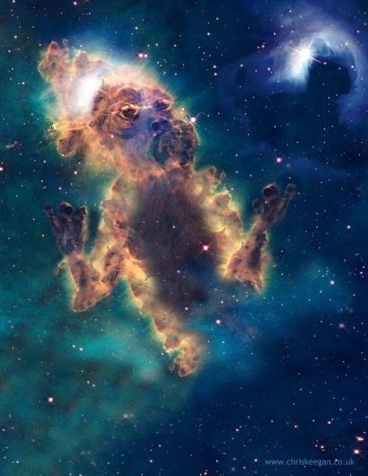 CHRIS KEEGAN #chris #telescope #hubble #nasa #illustration #keegan