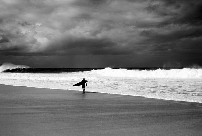 Locl by High Tide #photography #surf #black and white