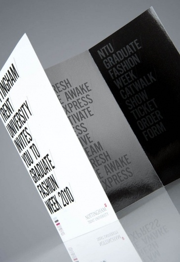 NTU GFW10 : Andrew Townsend #print #flyer