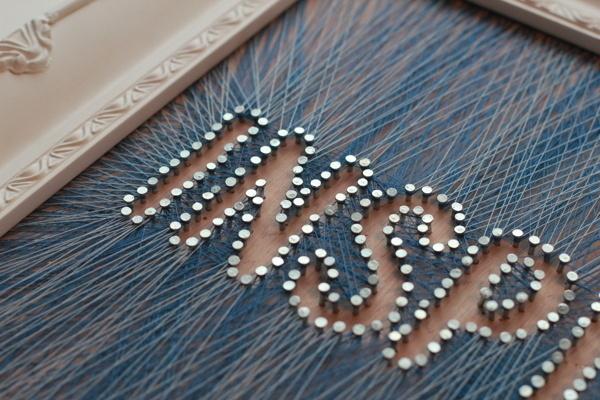 Leeds & Partners #inspiration #thread #frame #lettering #string #inspiring #passport #typography
