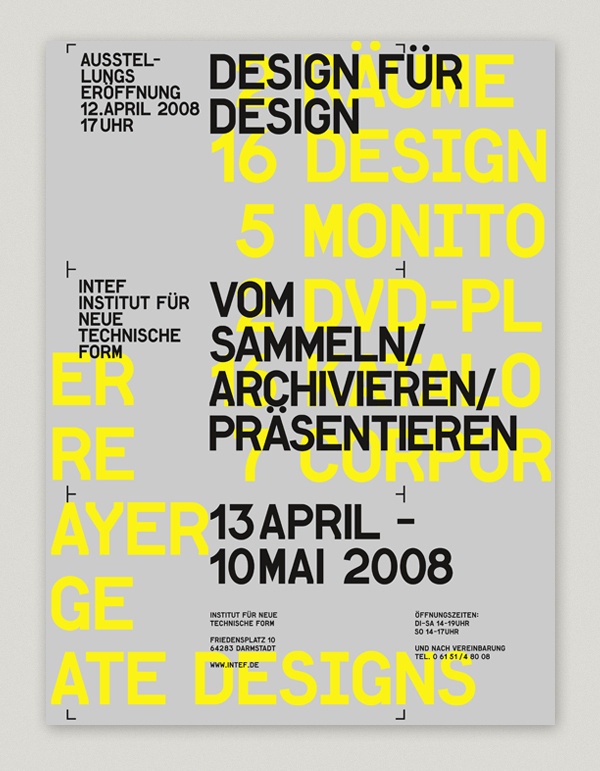 INTEF EXHIBITION #type #poster