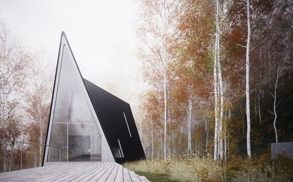 William O.Brien JR #forest #architecture #house