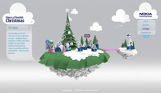 Sam Dallyn - Nokia Christmas - Christmas competition and promotion #awesome