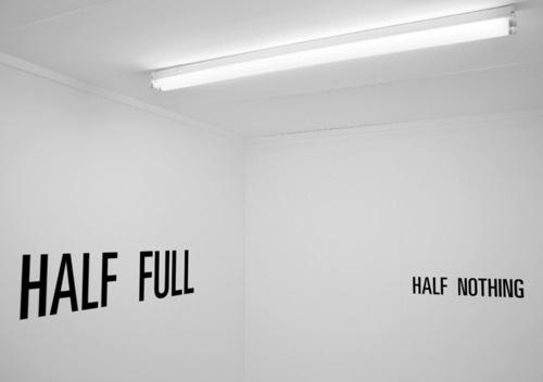 ANTI-MTTR #installation #nothing #design #full #walls #half #typography