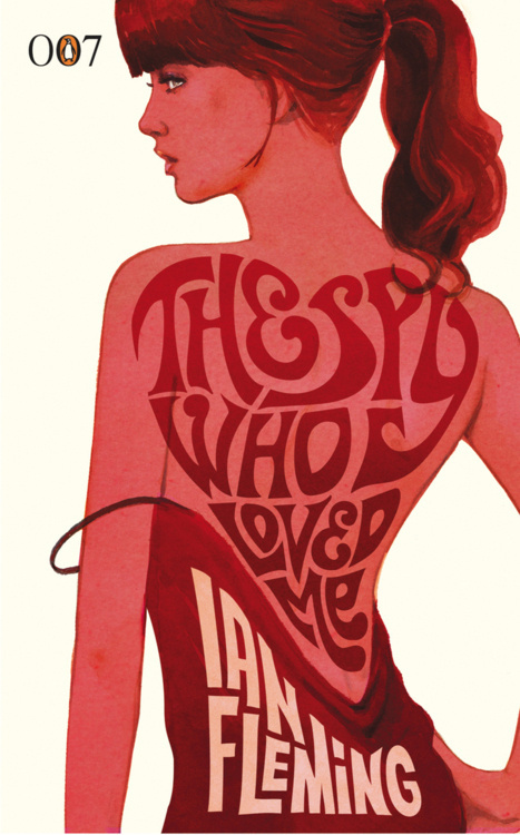 Book cover(The Spy Who Loved Me, by Ian Flemming) #cover #james #bond #book