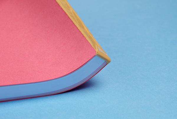 The Cumquat — Studio Hi Ho #binding #pink #yellow #gold #latex #plastic