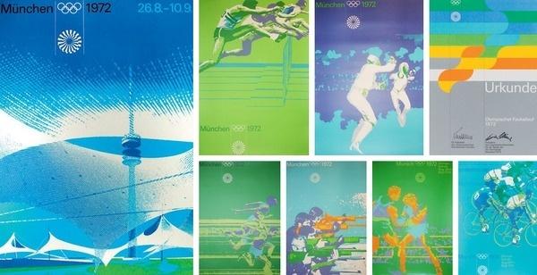1972 Munich Olympics #olympic #1972 #poster #munich #olymics