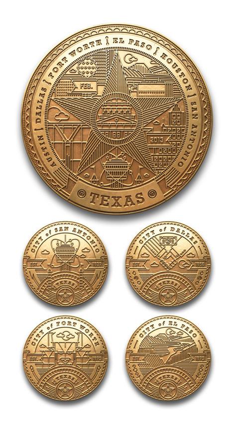 kendrick kidd #badges #illustration #coins