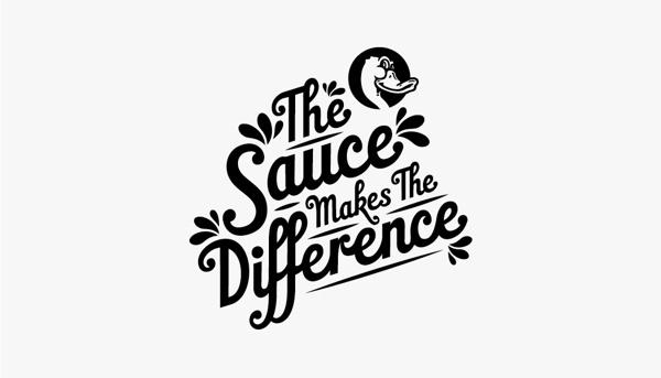 DUCK SAUCE TEE #sauce #new #music #duck #logo #identity #typeface #york #type #records #typography