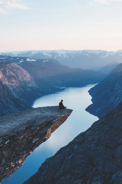 http://www.rustadmedia.com/ #norway #sit #contemplate #landscape #photography #lake #europe #mountains #beauty