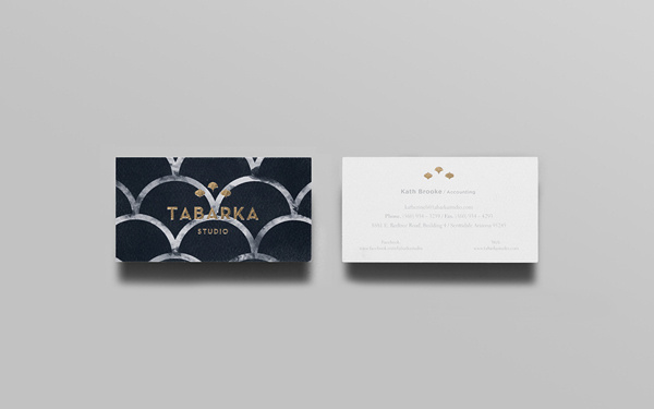 Tabarka Studio on Behance #stationary #card #print #business