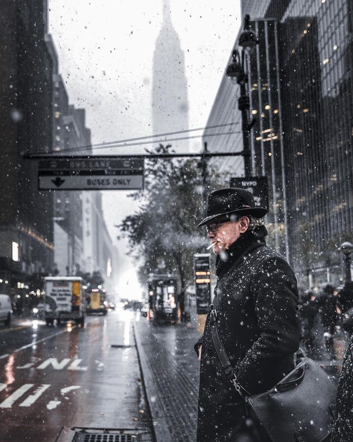 Humans of New York: Photos of Random Strangers in NYC by Colin Ridgway