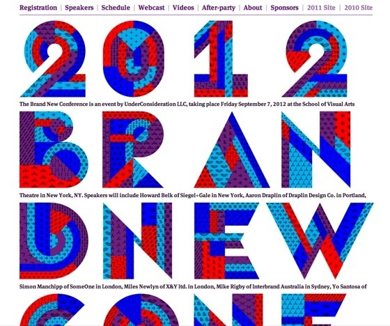 2012 Brand New Conference #beautifull
