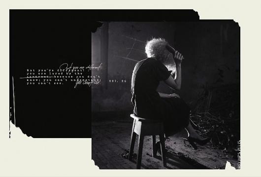 The Unknown Shadow. - Voyeur #analogue #photography #dark #film