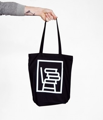 Sit and Read #chair #book #logo #partparcel #bag