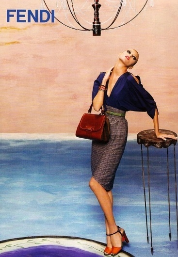 Fendi Campaign #fashion #photography #direction #art