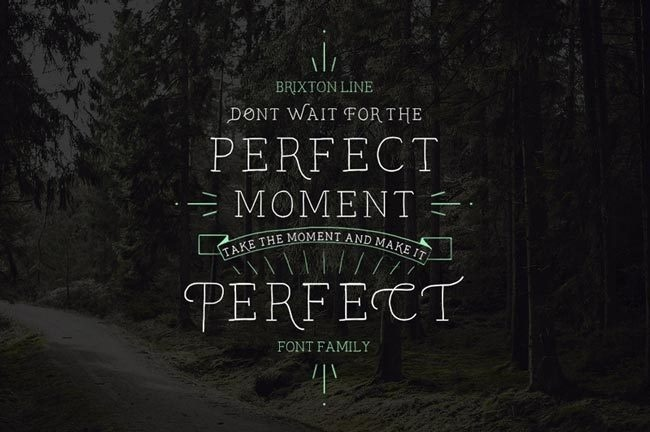 Don't wait For the Perfect Moment, Take the Moment & Make It Perfect #inspiration #lettering #quote #hand #typography