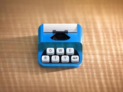 Typewriter1 #icon #ipad #ui #iphone #app #ios #typewriter