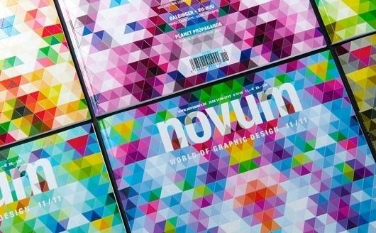 A Magazine Cover Inspired By Bucky Fuller Highlights The Feel Of Paper   Co.Design: business + innovation + design #design #graphic #novum #geometric #buckminster #fuller #magazine #paperlux