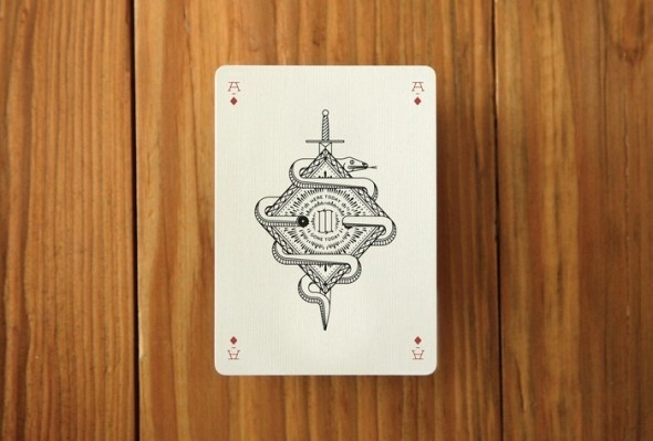 A deck of playing cards in defringe.com #a #deck #print #defringe #of #playing #illustration #cards
