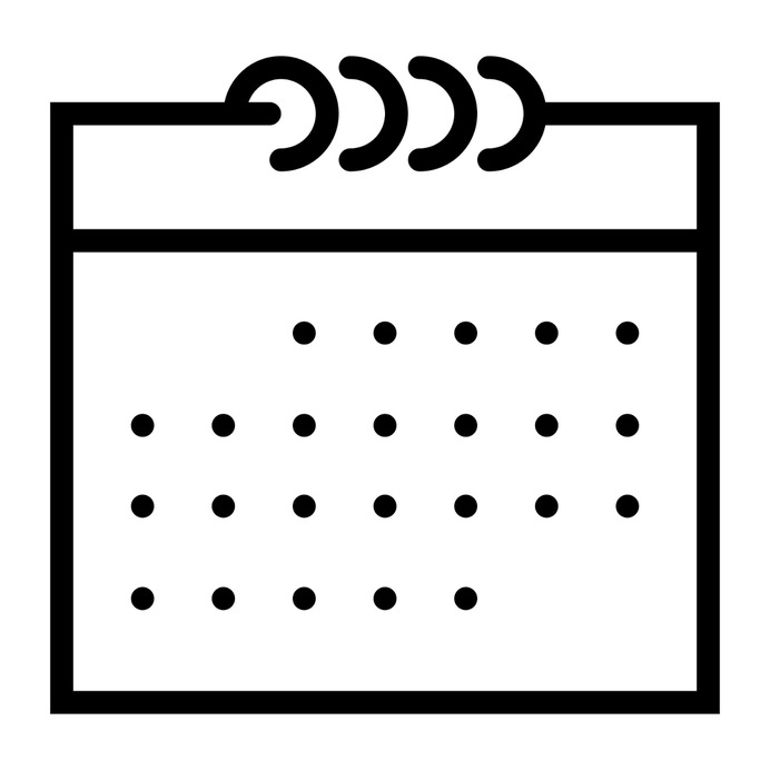 See more icon inspiration related to calendar, date, time, organization, schedule, administration, calendars and interface on Flaticon.