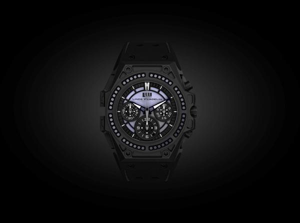 linde werdelin spidospeed black diamond watch 2 #fashion #watch