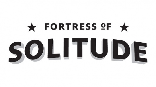 Fortress of Solitude – Works of Designer Colin Dunn #type #lettering
