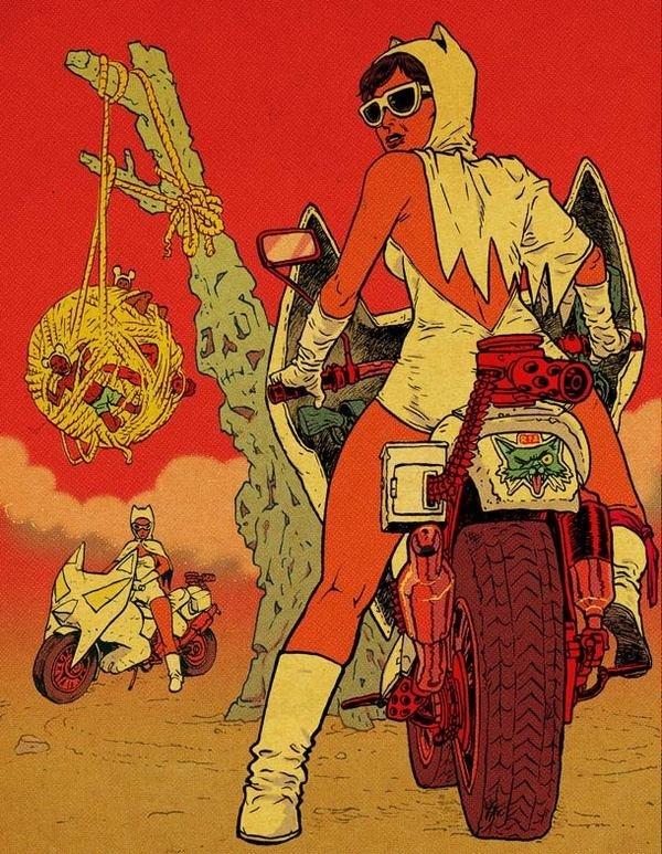 Ralph Niese illustrations 35 #comic