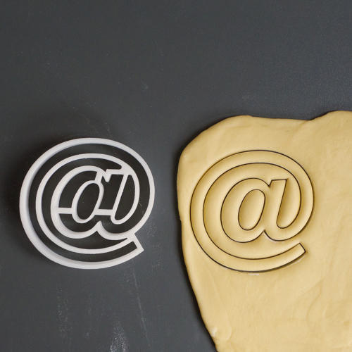 4 | 3-D Printed Cookie Cutters Shaped Like Your Favorite Typefaces | Co.Design | business + design #typeface #cookies