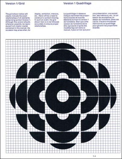 The CANADIAN DESIGN RESOURCE » Burton Kramer / CBC #cbc #kramer #design #grid #brand #identity #burton
