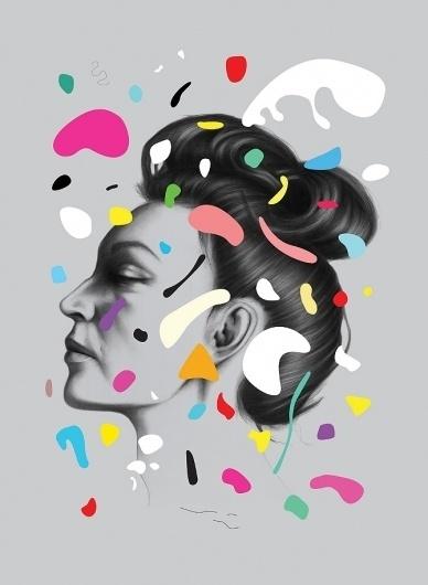 Gala - Oh Yeah Studio #placement #shape #colour #illustration