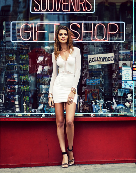 Ana Beatriz Barros for Revolve Clothing Campaign #fashion #model #photography #girl
