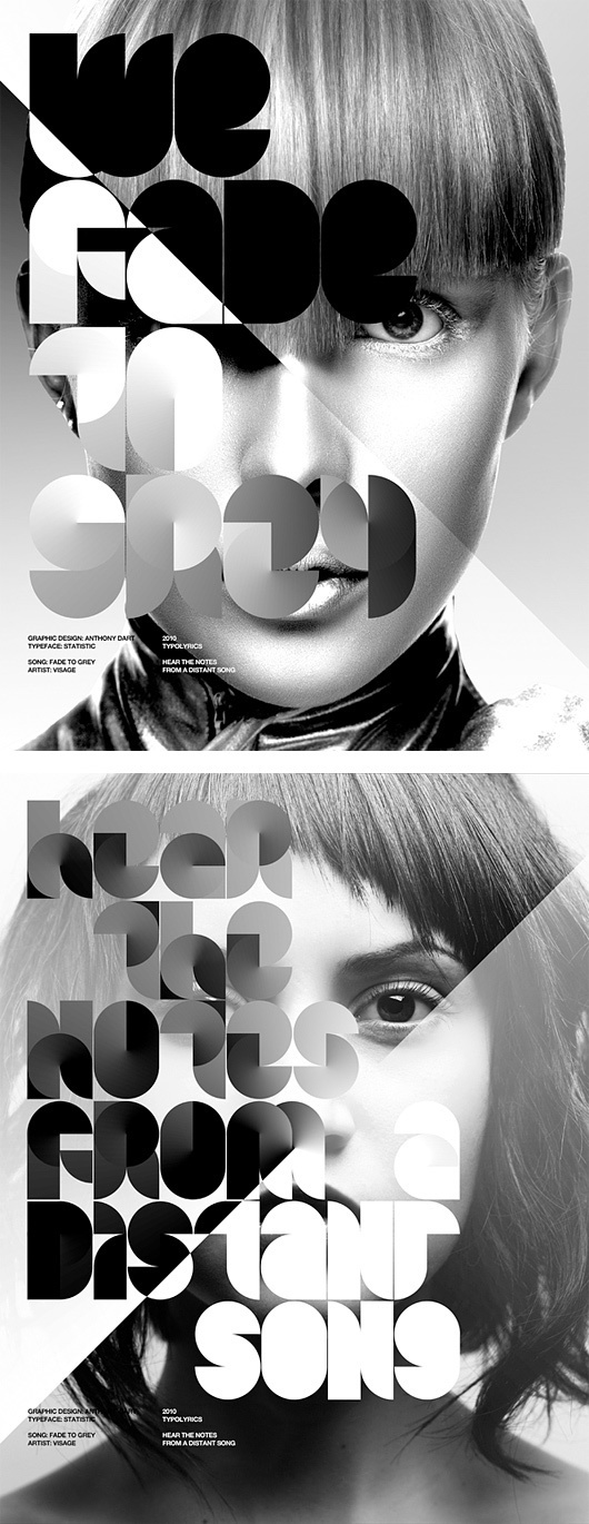 Awesome Posters by Anthony Neil Dart #design #graphic #poster #typography
