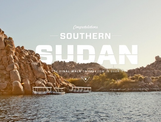 The Inspiration Stream   Veerle's blog 3.0 - Webdesign - XHTML CSS   Graphic Design #sudan #photo #landscape #southern #typography
