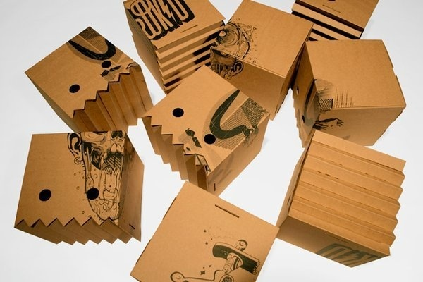 Andreu Zaragoza Graphic Design // Illustration // Packaging #andreu #herokid #cardboard #packaging #zaragoza