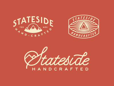Stateside Handcrafted No1 #logo #lettering #hand