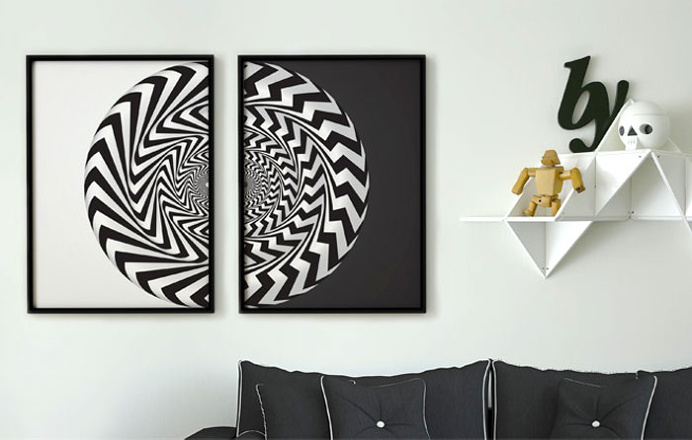 Vortex Collection – Art Posters by Martin Albrecht - #art, #fineart, art