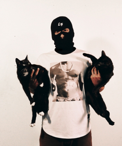 AHONETWO #ganster #tupac #cat #cats #2pac