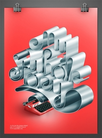 CUSTOM LETTERS 2010, TOP 10 — LetterCult #illustration #typography