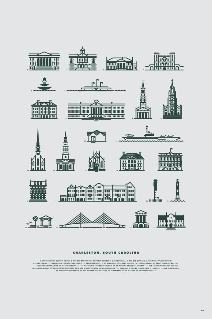 The Charleston 25 v.2 by Jay Fletcher