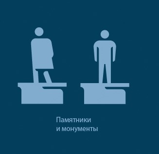 The making of the Moscow street navigation system #pictogram #icon #sign #picto #symbol #emblem