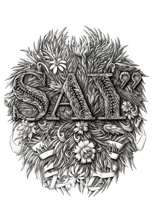 T shirt design for Say Media Inc. by Alex Konahin #illustration #design #art