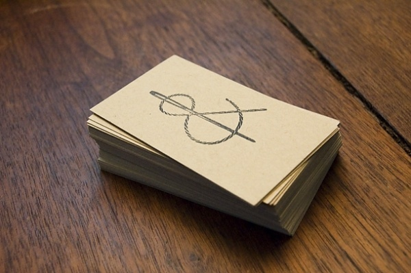 Indigo & Cotton: New Stamps #ampersand #stamp #cards #business