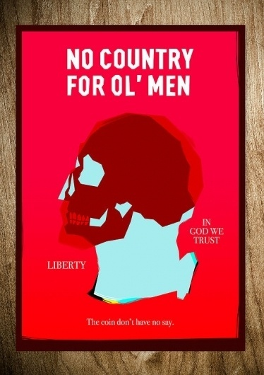 NO COUNTRY - Rocco Malatesta Posters & Prints #movie #malatesta #graphic #rocco #illustration #poster #country #no