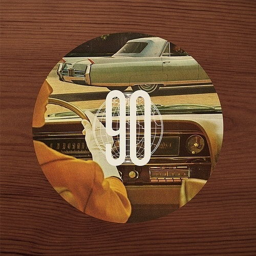 """90"" A print by Mark Weaver #mark #illustration #vintage #weaver #condensed #type"