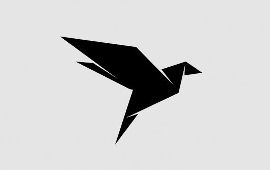 Büro Ink / Grafikdesign + Art Direktion Markus Schäfer #origami #identity #minimal