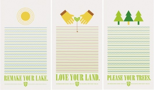 Steph Davlantes | Design + Watercolor #lakes #land #environment #sustainability #clean #steph #davlantes #posters #trees