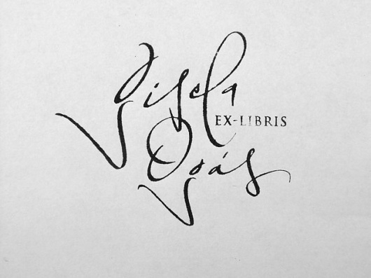 Graphic-ExchanGE - a selection of graphic projects #calligraphy #typography